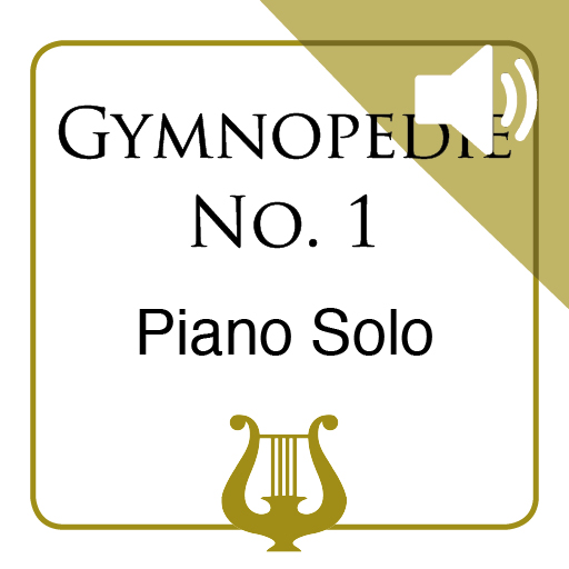 Gymnopedie No. 1 by E. Satie - Piano Solo MP3 included (iPad Edition)