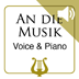 An die Musik by F. Schubert - Medium Voice & Piano MP3 Play-Along included (iPad Edition)