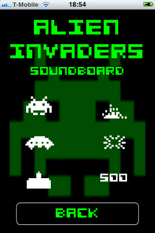 Screenshot Alien Invaders