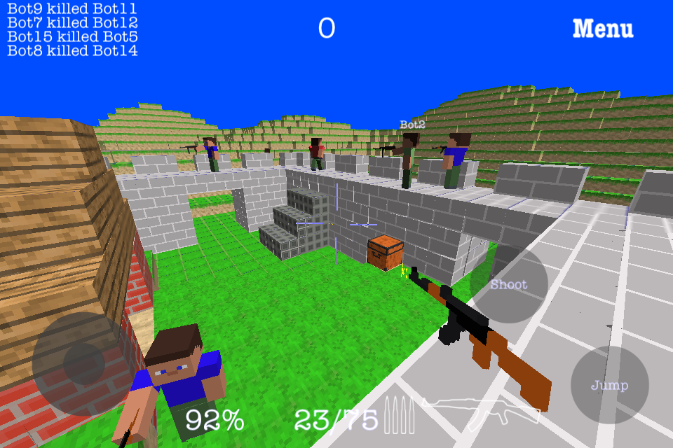 Screenshot CraftedBattle