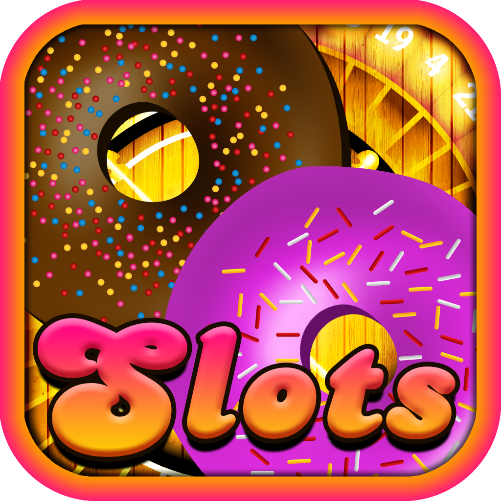 A Big Donut House Casino Slots Machine - Free Prize Wheel, Black Jack & Roulette Bonus Games